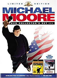 Michael Moore Limited Edition DVD Collector's Set (Bowling for Columbine / The Big One)
