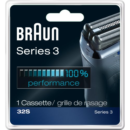 Braun Series 3 Replacement Head 32S, Silver, 1 Count front-54503