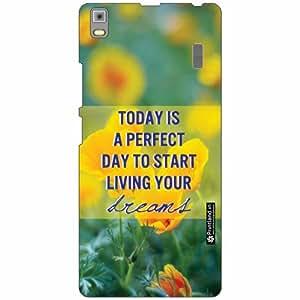 Lenovo K3 Note - PA1F0001IN Back Cover - Silicon Perfect Day Designer Cases