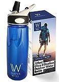 Wasserflasche für unterwegs - Reinigt Wasser durch die Beseitigung von