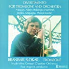 A Divertimento Of Works For Trombone And Orchestra