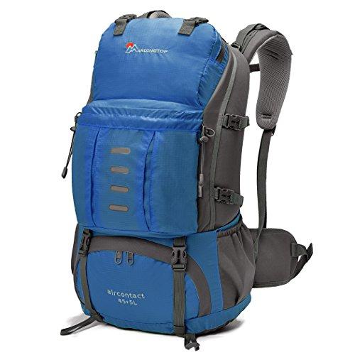 mountaintop-45-5l-mochila-impermeable-morral-que-acampa-mochila-viaje-mochila-al-azar-con-la-cubiert