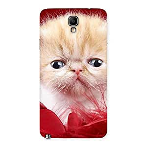 Ajay Enterprises Cool Kitty In Red Fur Back Case Cover for Galaxy Note 3 Neo