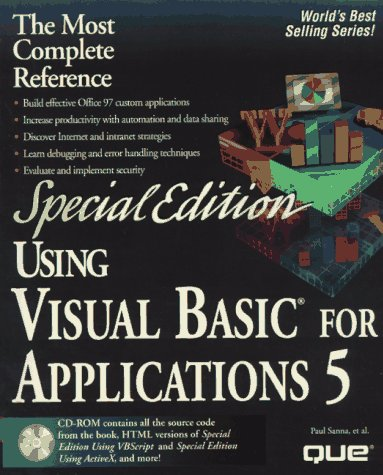 Using Visual Basic for Applications 5 (Using ... (Que))