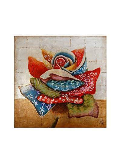Arte Dal Mondo Panel Decorativo Edgar Ramirez Fiore Astratto