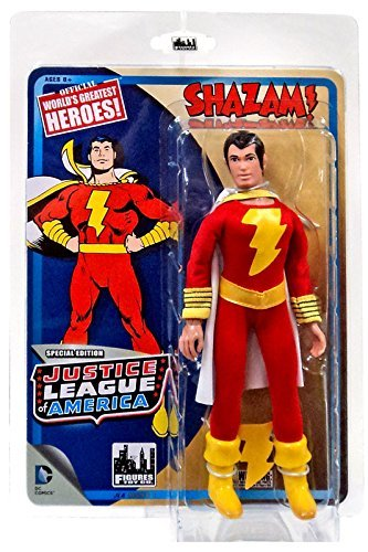 """DC Justice League of America World's Greatest Heroes! Shazam! 8"""" Action Figure"""