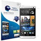 Tech Armor Premium High Definition Clear Screen Protector with Lifetime Replacement Warranty for HTC One (Pack of 3) (discontinued by manufacturer)