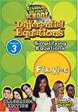 echange, troc Sds Differential Equations Module 3: Simplifying [Import USA Zone 1]