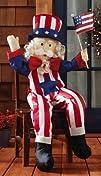Stuffable Uncle Sam Patriotic Outdoor…