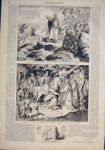 Othon Germany Allemagne Emperor Fine Art 1858 Print