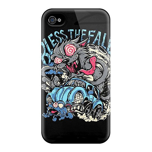 New Style Vmoore Hard Case Cover For Iphone 4/4S- Blessthefall