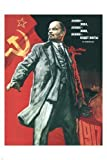 Lenin lived, lives, & will go on living POSTER Viktor Ivanov Soviet Union 1967 24X36 by Pyramid [並行輸入品]