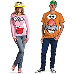 Mr./Mrs. Potato Head Adult Costume Kit