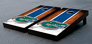 Florida UF Gators Cornhole Game Set Vintage Gator Version Corn Hole by Gameday Cornhole