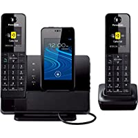 Panasonic Link2Cell Digital Phone and Answering Machine 2 Cordless Handsets