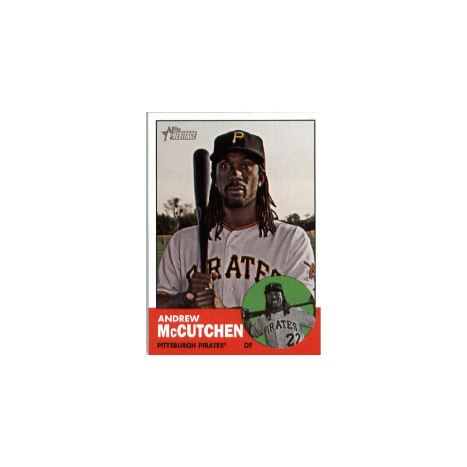 Andrew McCutchen   Pittsburgh Pirates (ENCASED MLB Trading Card