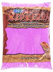 Estes Gravel Products SES61205 5-Pack RepTerra Reptile Calcium Carbonate Sand, 5-Pound, Purple