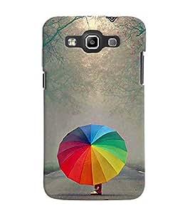 Fuson 3D Printed Designer back case cover for Samsung Galaxy Quattro I8552 / Win I8550 - D4379
