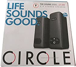 Circle CT220 2.0 Stereo Speaker (Black)