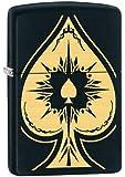Zippo Spade Lighter, Black Matte
