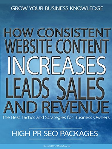 How Consistent Website Content Increases Leads, Sales And Revenue