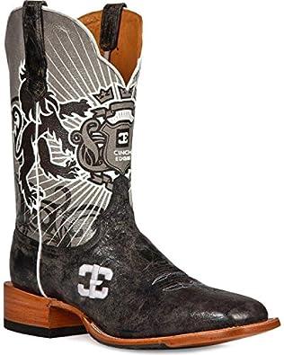 Cinch Western Boots Mens Cowboy Honorable Edge 8 D Black CEM103
