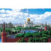 1000ピース モスクワのクレムリンと赤の広場-ロシア (50x75cm)