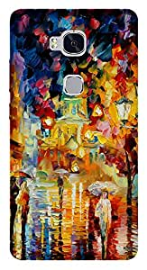 WOW Printed Designer Mobile Case Back Cover For Huawei Honor 5X