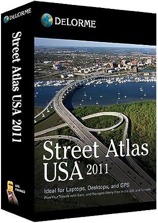 Street Atlas USA 2011