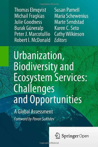 Urbanization, Biodiversity and Ecosystem Services