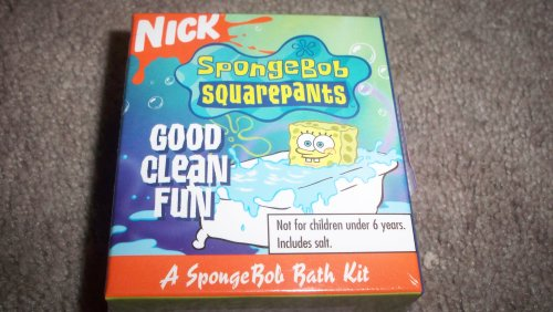 Picture of UBox Nickelodeon Spongebob Squarepants Good Clean Fun Bath Kit with Bath Salts, Tub Decals and more (B0028R5G5W) (Sudoku Puzzles)