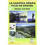 Mapa laguna negra - picos de urbion 1:25000