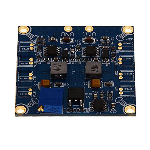 Led Flash Flashing Light+Control Board Module For Rc 8 Axis Helicopter