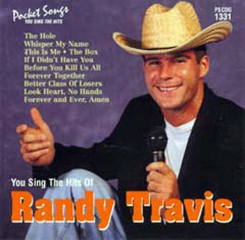 Karaoke Music CDG: Pocket Songs Karaoke CDG #1331 - Sing the Hits of Randy Travis