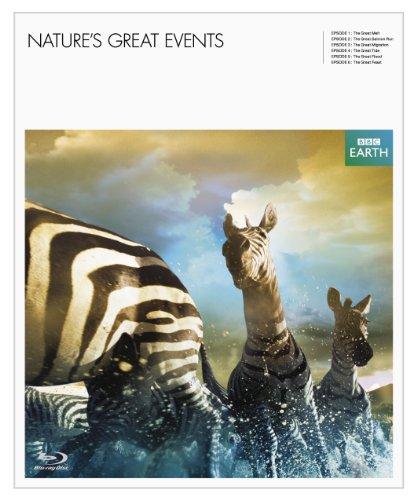 BBC EARTH グレート・ネイチャー ブルーレイ・デラックスBOX [episode2-6] 3枚組 [Blu-ray] -