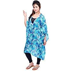 Etti Be Trendy Women's Blue Combo Kaften Free Size