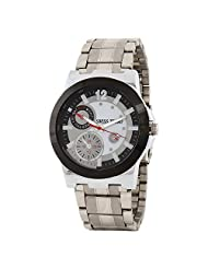 Swiss Trend Stylish Mens Watch With Silver Dial And Metallic Chain (Artshai1659)