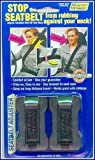 Masterlink Marketing Black Seatbelt Adjuster, (Pack of 2)