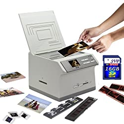 SVP 2012 Newest PS9890(with 16GB) 3-in-1 Digital Photo / Negative Films / Slides Scanner with built-in 2.4 LCD Screen+AV out