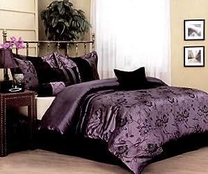 Nanshing Harmonee 7-Piece Jacquard Comforter Set, Queen
