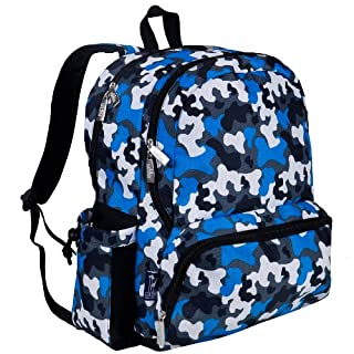 Wildkin Blue Camo Megapak Backpack