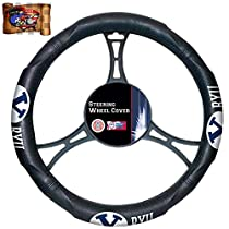 NCAA Brigham Young Cougars University 1 Steering Wheel Cover Universal UAA Decal