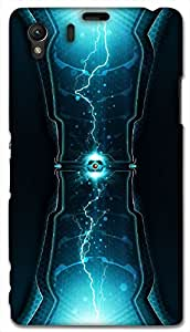 Timpax protective Armor Hard Bumper Back Case Cover. Multicolor printed on 3 Dimensional case with latest & finest graphic design art. Compatible with Sony L39H - Sony 39 Design No : TDZ-24617