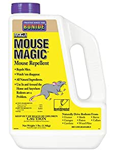 Bonide Outdoor Mouse Magic Repellent, Easy Apply Granules