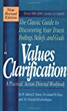 Values Clarification (0446670952) by Dr. Sidney B. Simon