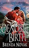 Of Noble Birth (0061098590) by Novak, Brenda
