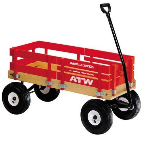 Red All Terrain Cargo Wagon by Radio Flyer