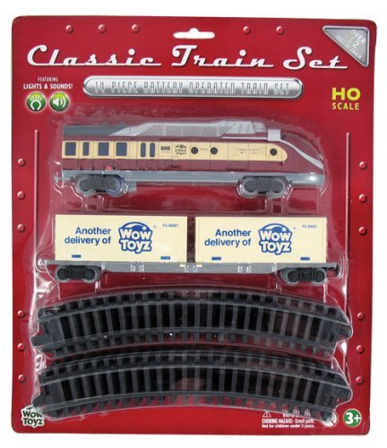 WowToyz Classic Train Set - Diesel Engine with cargo containers