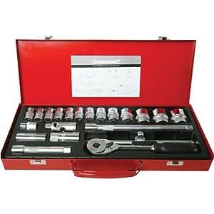 Silverline 675046 set di chiavi a bussola attacco 1 2 for Bussola amazon