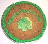 Scott's Cakes 2 lb. Chocolate Chip Cookie Cake with Shamrock